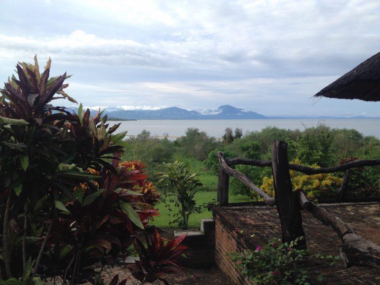 Blick auf den Malawi-See während einer Afrika Rundreise