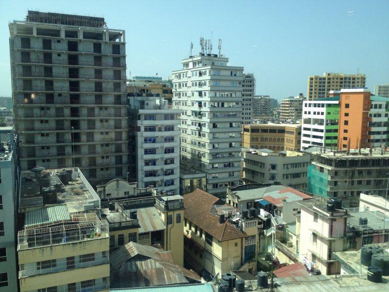 Gebäude in Dar es Salaam