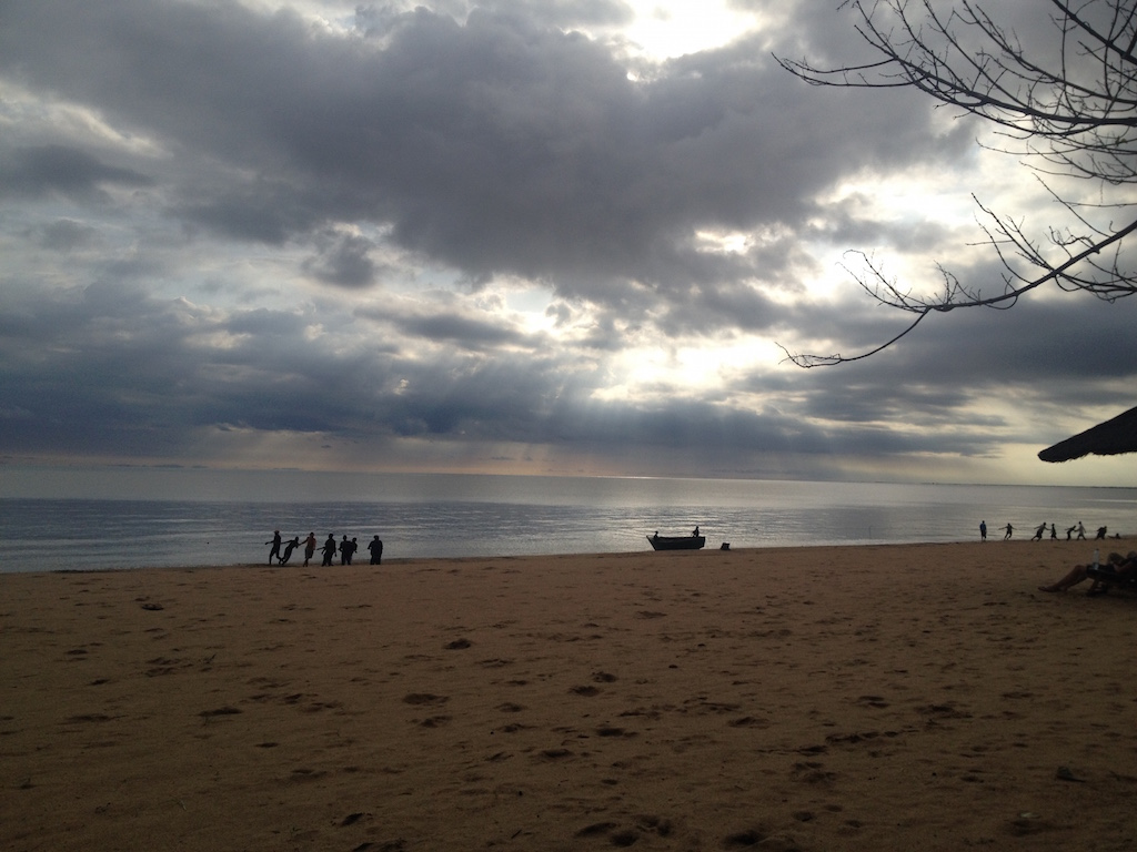 Morgenstimmung am Malawi-See