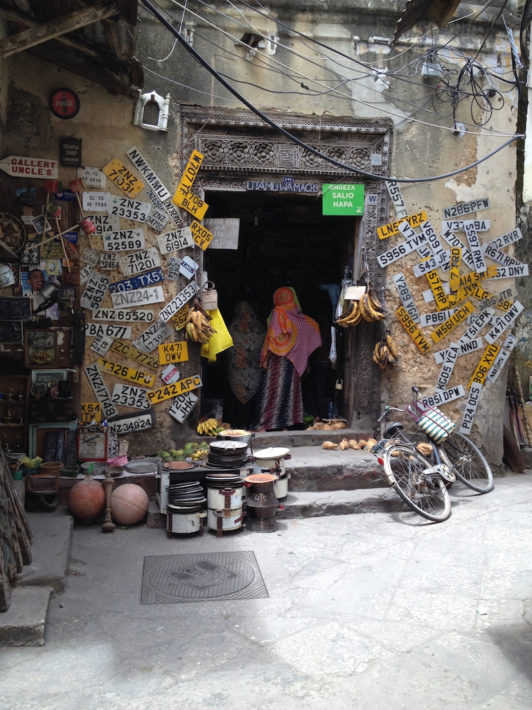 Shop in Stone Town