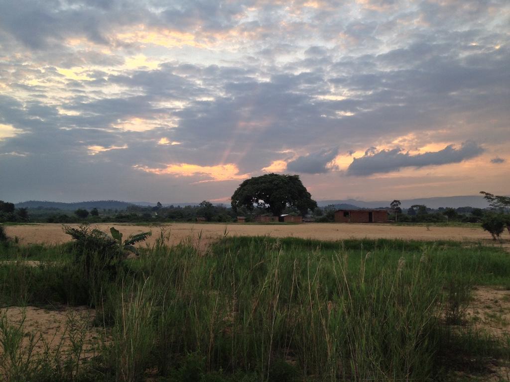 Sonnenuntergang am Malawi-See