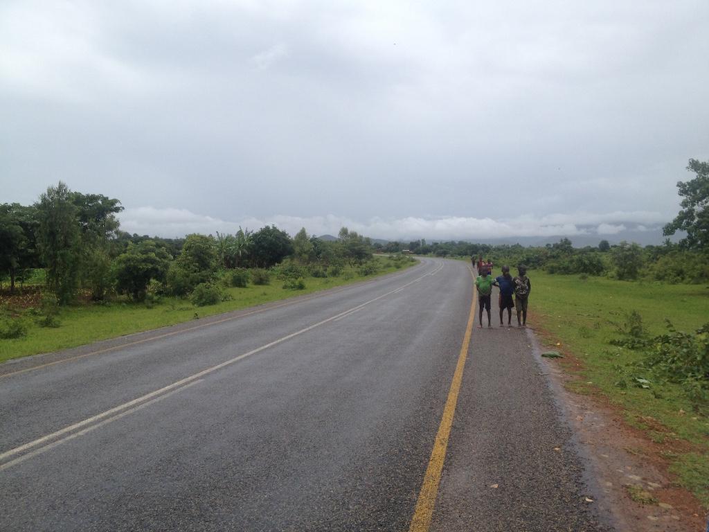 Strassenszene Malawi