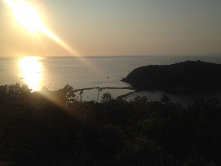 Ko Phangan Highlights: Blick auf die Insel Ko Mah