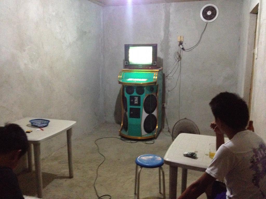 Die Karaoke-Maschine