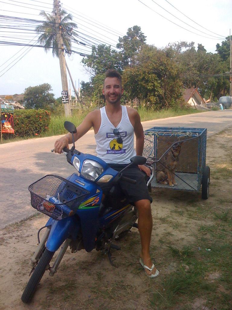 Ko Phangan Highlights: Marco Buch als Freiwilliger bei PAC
