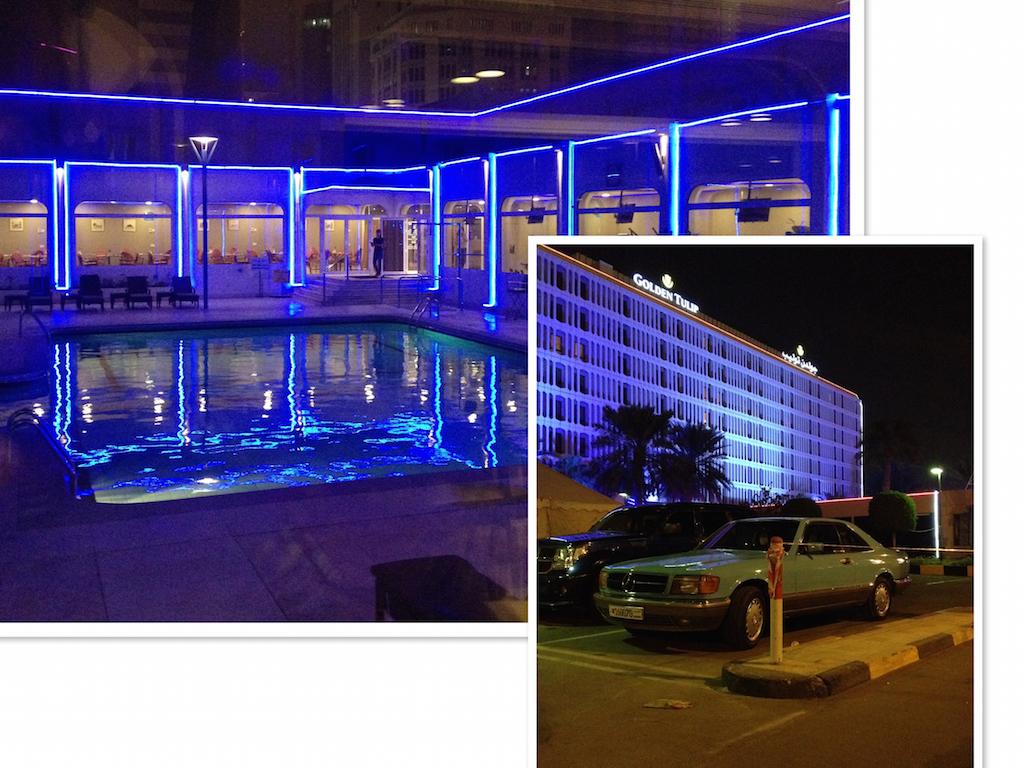 Golden Tulip Hotel, Bahrain - Die Beleuchtung jedenfalls ist super!