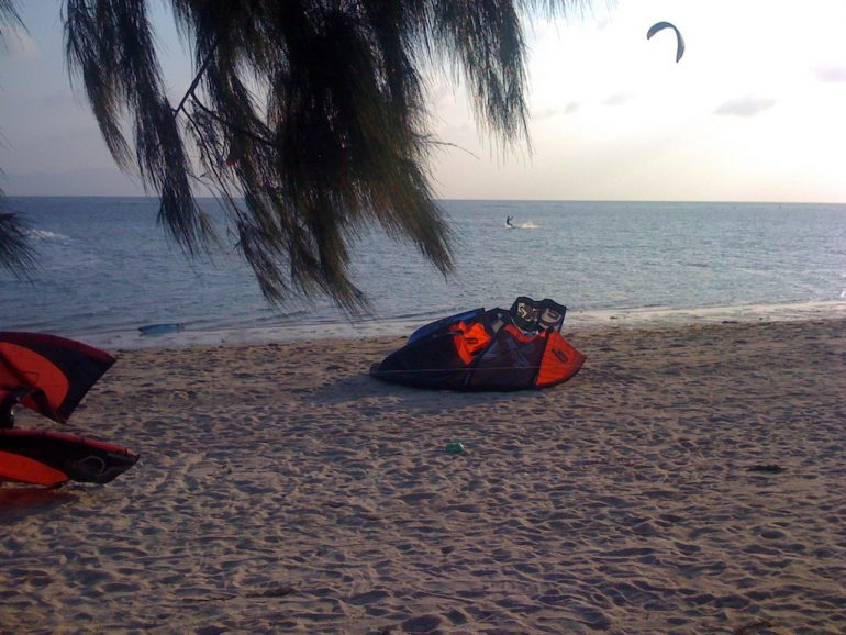 Ko Phangan Highlights: Kiteboarden in Ban Tai