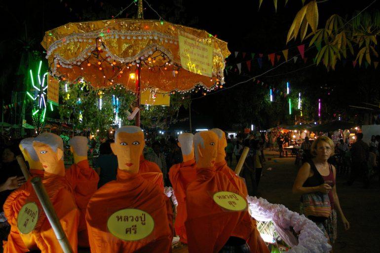 Ko Phangan Highlights: Spiel bei einem Tempelfest