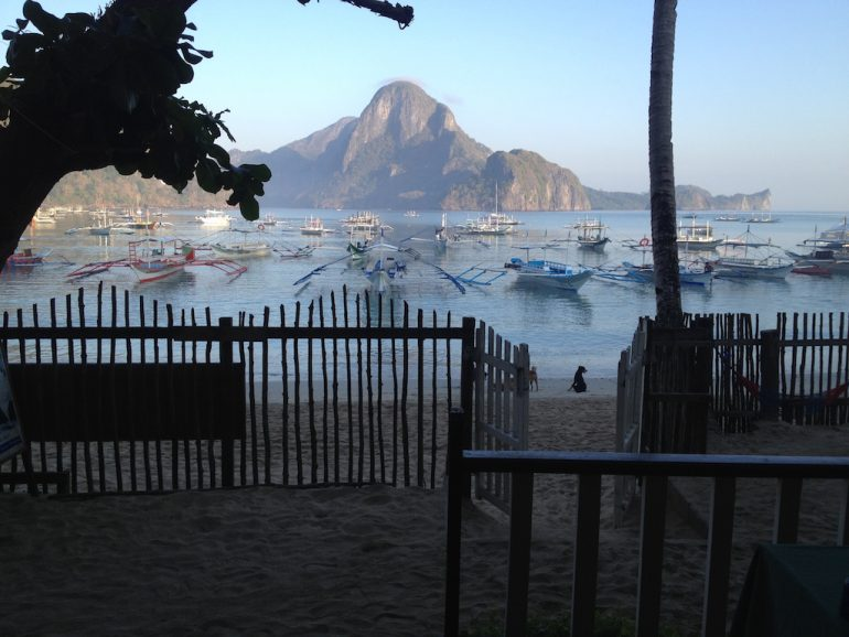 Philippinen Highlights: Ausblick in El Nido