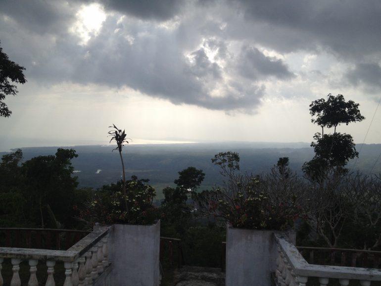 Ausblick vom Kreuz in Loboc