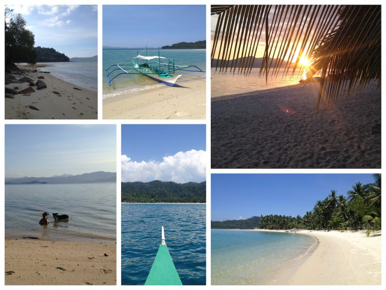 Philippinen Highlights: Bootstour Port Barton