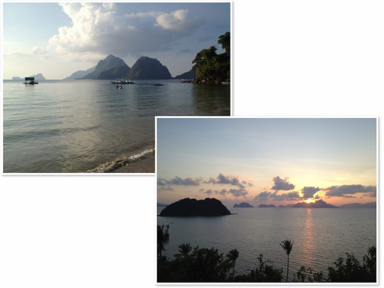 Philippinen Highlights: Corong Corong Beach, El Nido