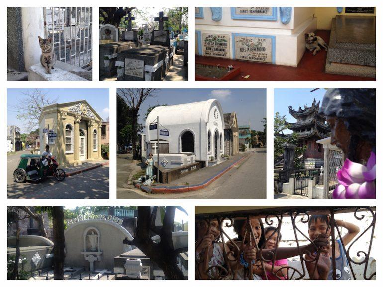 Die Gräber auf dem Nordfriedhof sind echte Philippinen Sehenswürdigkeiten