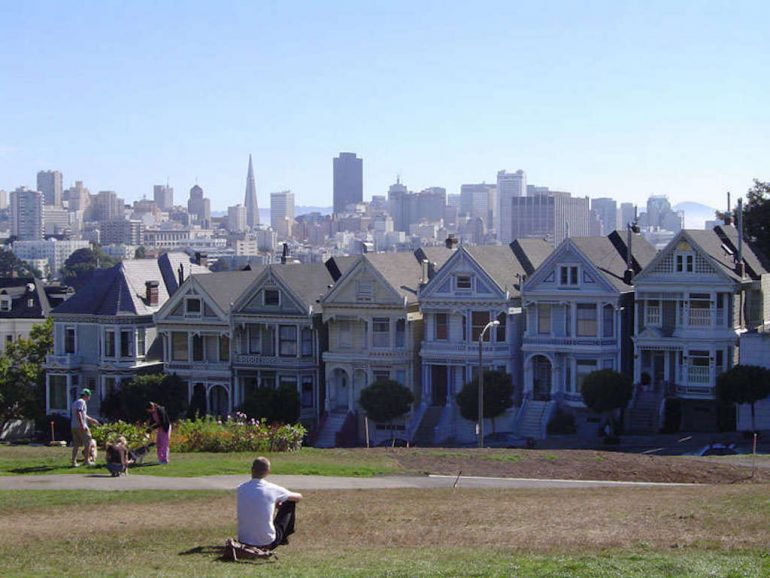 Road Trip Kalifornien: Six Sisters, Alamo Square, San Francisco