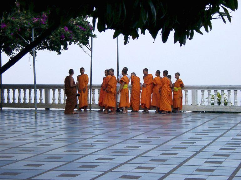 Schöne Bilder: Mönche bei Chiangmai
