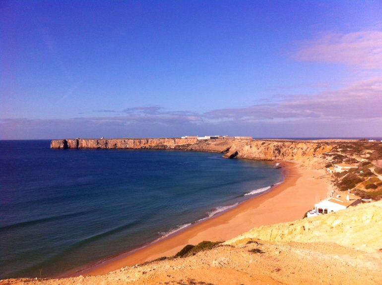 Schöne Bilder: Strand und Meer in Sagres
