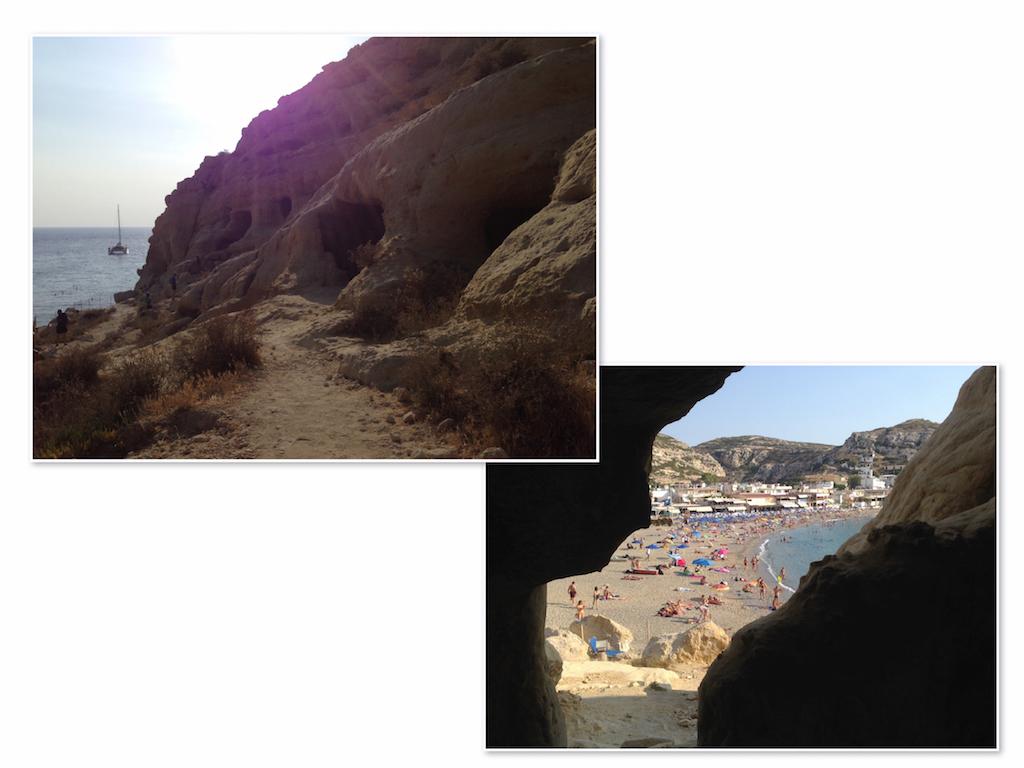 Kreta Sehenswürdigkeiten: Die Höhlen von Matala