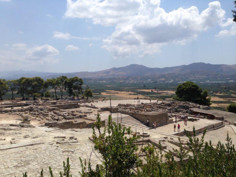 Kreta Sehenswürdigkeiten: Tempelruine Festos