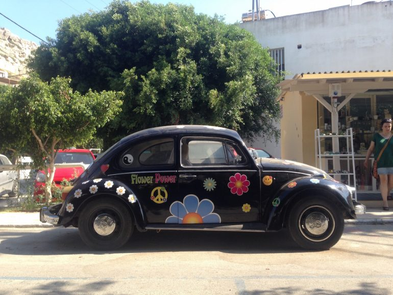 Kreta Highlights: Hippie-Käfer in Matala