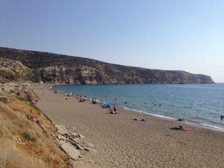 Kreta Sehenswürdigkeiten: Kommos Beach
