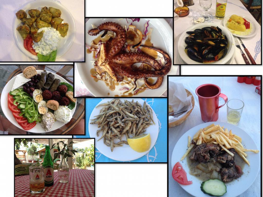 Kreta Sehenswürdigkeiten: Spezialitäten der kretischen Küche
