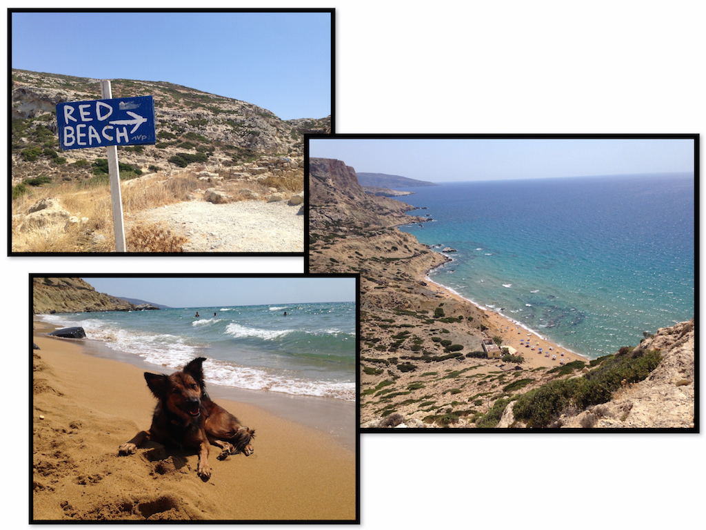 Kreta Highlights: Red Beach