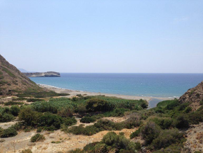 Kreta Highlights: Strand vor Triopetra