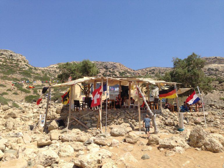Kreta Highlights: Yannis Mojito Bar, Red Beach