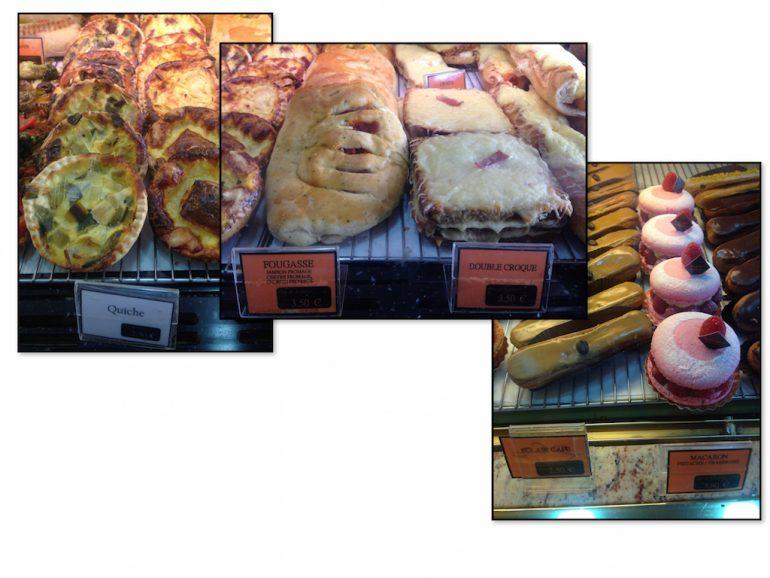 Gebäck in Frankreich: Quiche, Fougasse, Croque Monsieur, Eclair, Macarons