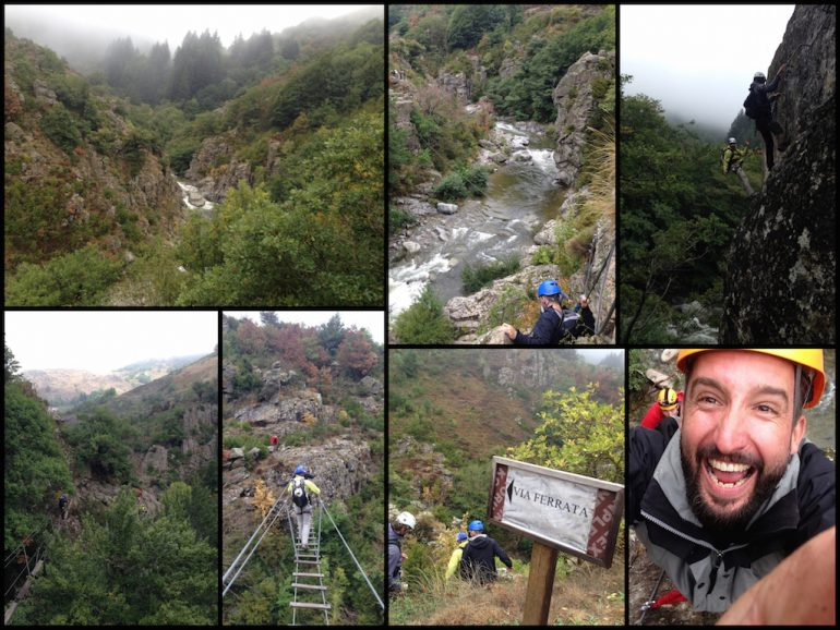 Lozère: Fluss und Kletterpfade am Klettersteig