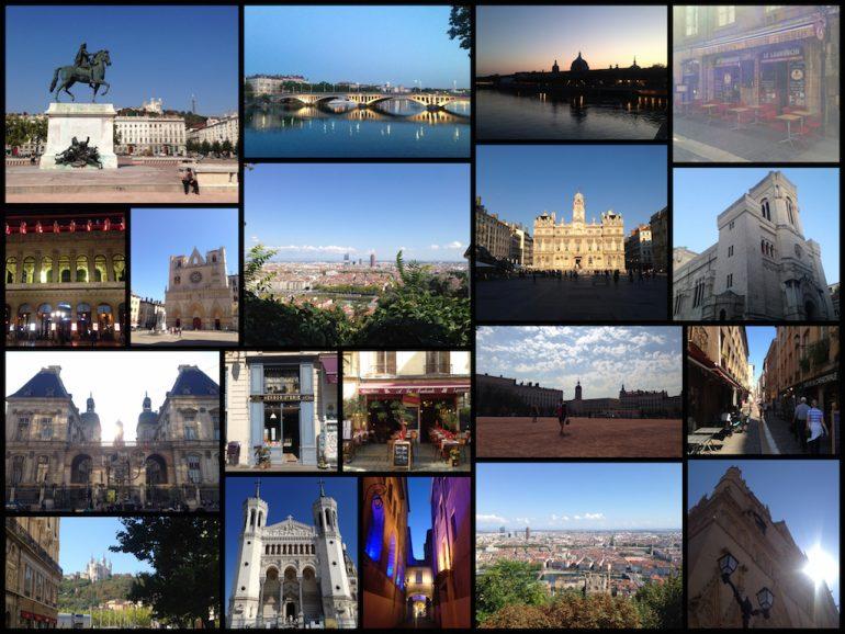 Aufnahmen aus Lyon