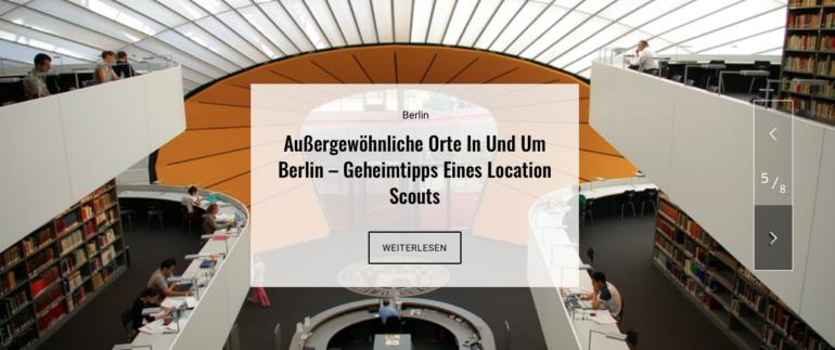 Außergewöhnliche Orte in und um Berlin