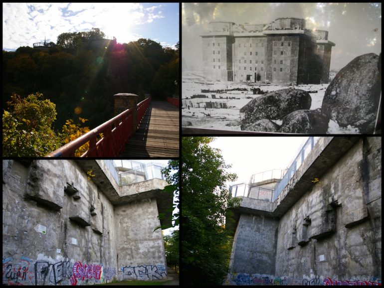 Things to do in Berlin: Bunker Humboldthain in the past and now