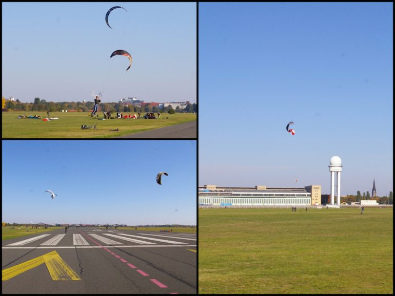 Things to do in Berlin: Kitelandboarding at Tempelhof airfield