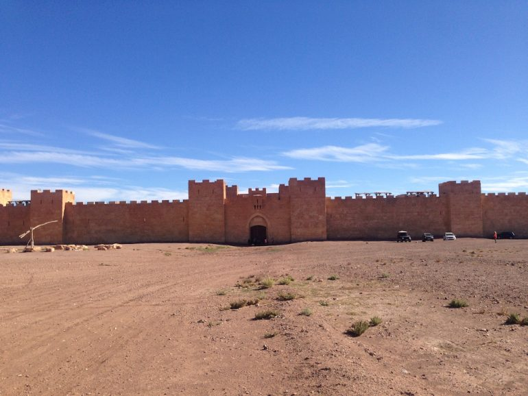 Marokko Sehenswürdigkeiten: Filmkulisse bei Ouarzazate
