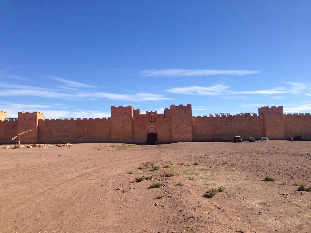 Filmkulisse bei Ouarzazate