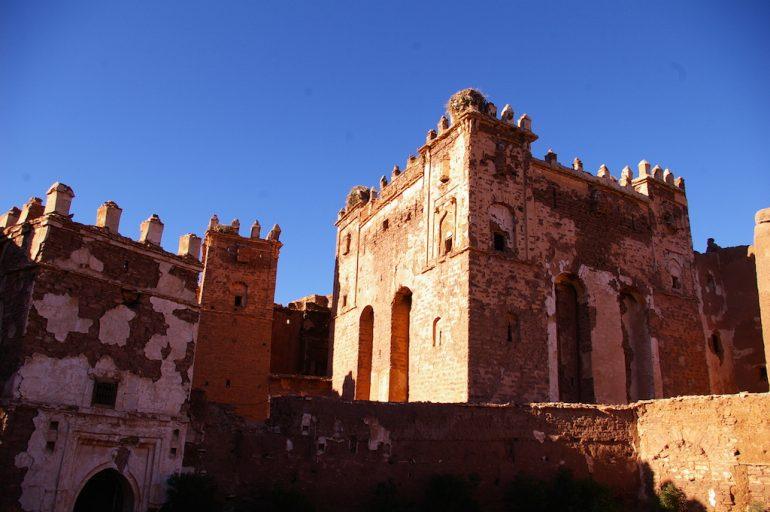 Gebäude der Kasbah Telouet
