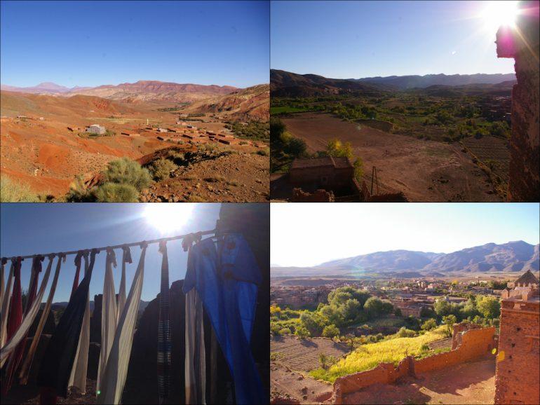 Die Umgebung der Kasbah Telouet