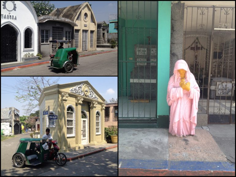 Most beautiful cemeteries: People and statues in Manila