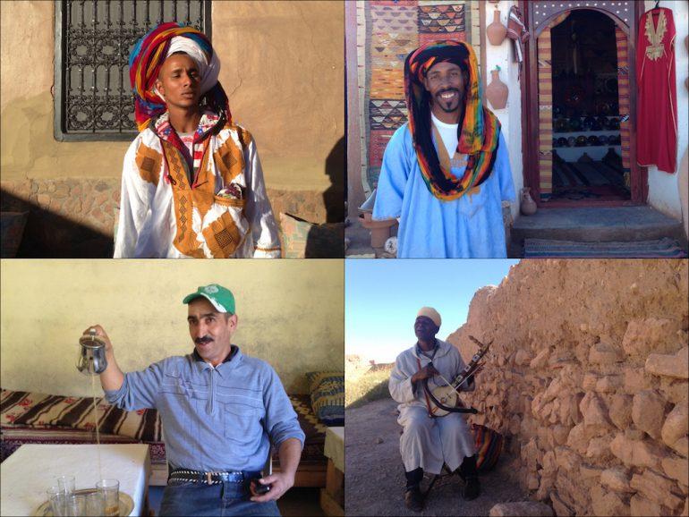 Menschen in Marokko