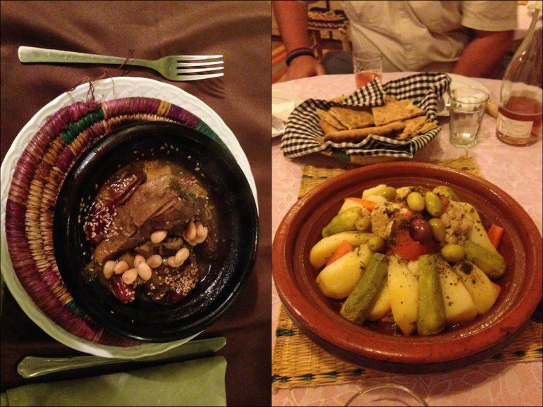 Tajine-Gerichte in Marokko