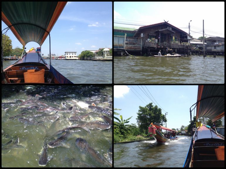Thailand Highlights: Khlong-Tour in Bangkok mit dem Longtail Boat