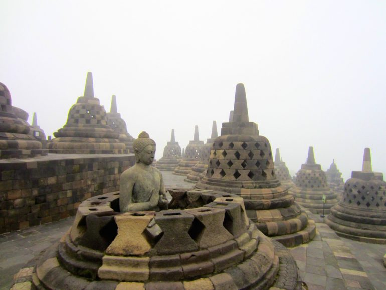 Denkmäler in Borobodur Nahe Jogja