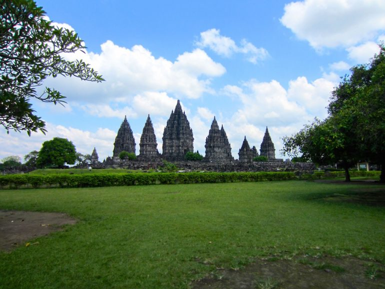 Denkmäler in Prambanan nahe Jogja