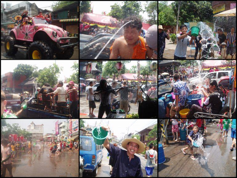 Thailand Highlights: Impressionen vom Wasserfest Songkhran