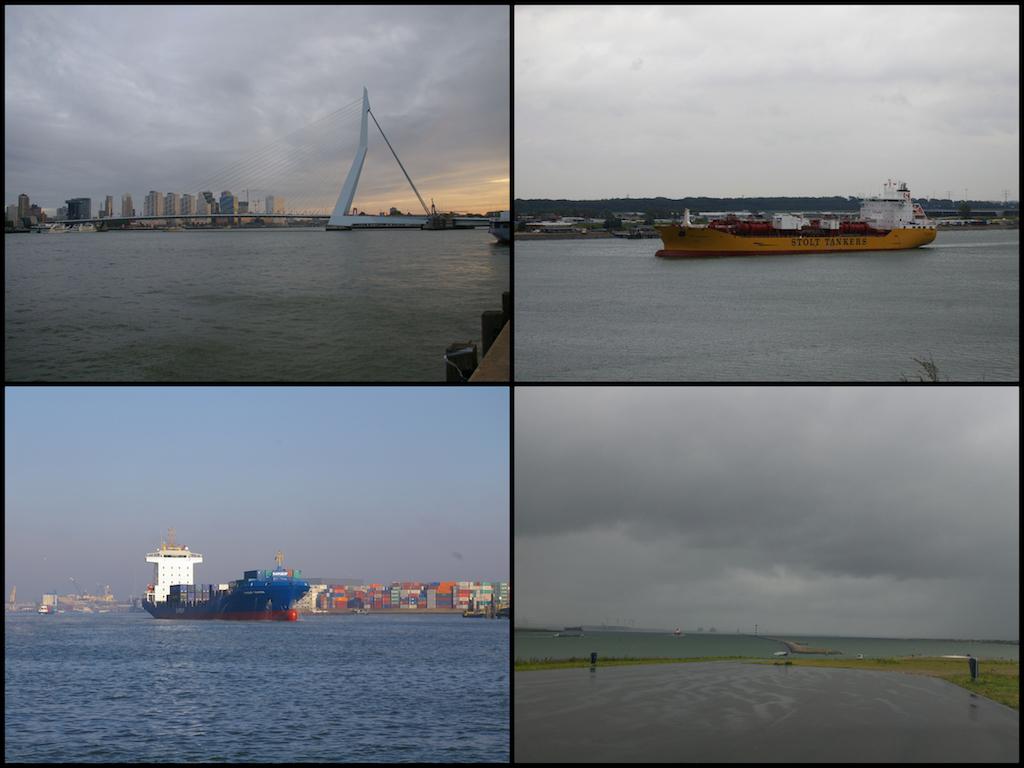 Europoort: Die Brücke von Rotterdam, große Kähne und ein grandioser Ausblick nach 16 Kilometern