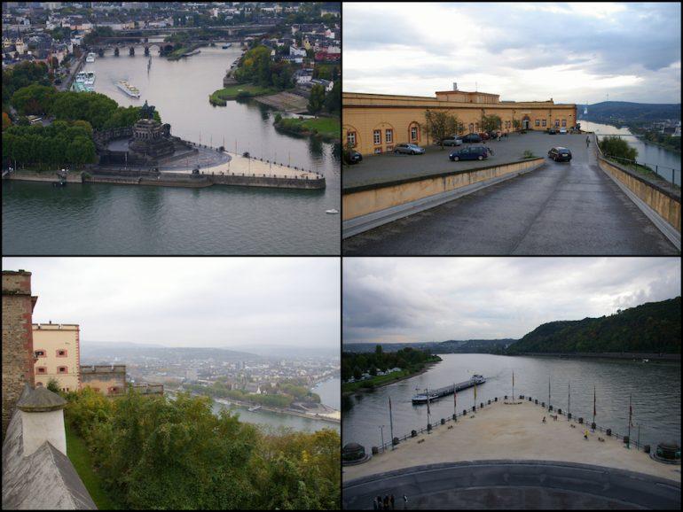 Urlaub am Rhein: Deutsches Eck und Festung Ehrenbreitstein