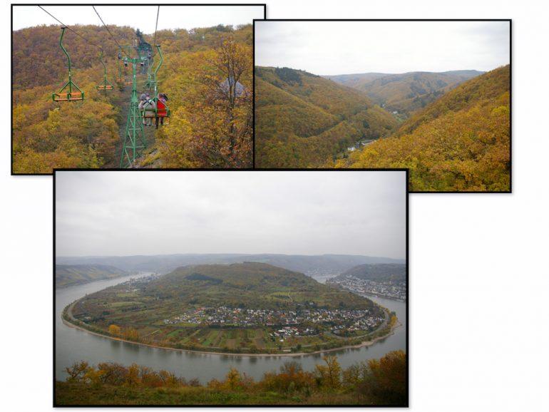 Urlaub am Rhein an der Rheinschleife Boppard
