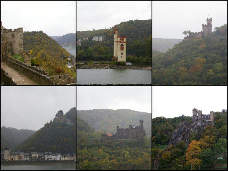 Schlösser am romantischen Rhein