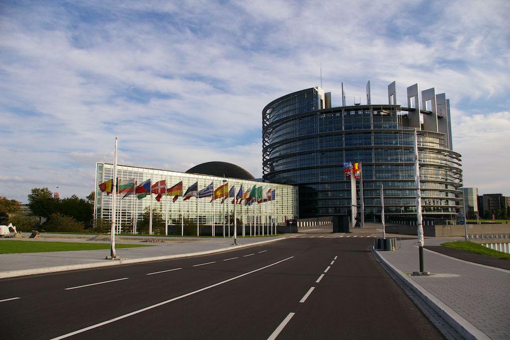 Strasbourg: Europäisches Parlament